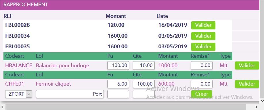 E-FAKTO : Transformation des BC ou BR Sage 100 C Gestion commerciale en facture