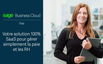 Découvrez SAGE Business Cloud paie, l'offre paie 100% SAAS de SAGE